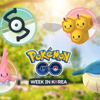 Pokémon GO Week 2019 in Korea takes place from May 4 to 6 featuring rare Pokémon Corsola, Unown, Combee, Solrock, Growlithe, Wailmer and more