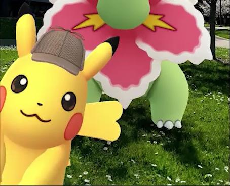 Detective Hat Pikachu Will Photobomb Go Snapshot Photos In Pokemon Go From May 7 To May 17 Pokemon Blog