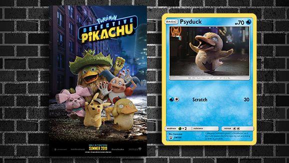 Exclusive Psyduck Pokemon Tcg Promo Card And Pokemon Detective