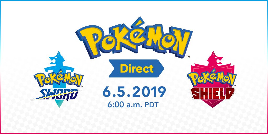 The Second Pokemon Direct For Pokemon Sword And Shield Starts In A