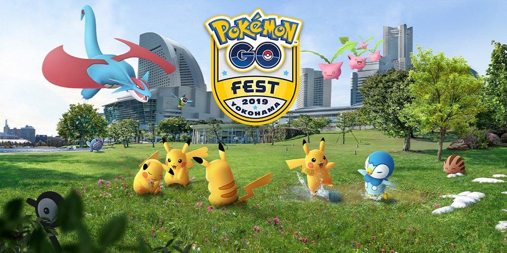 All tickets to Pokémon GO Fest 2019 in Yokohama have been claimed