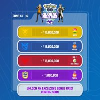 Niantic shares Pokémon GO Global Challenge score updates for June 16, all of Spark's Research Tasks now complete