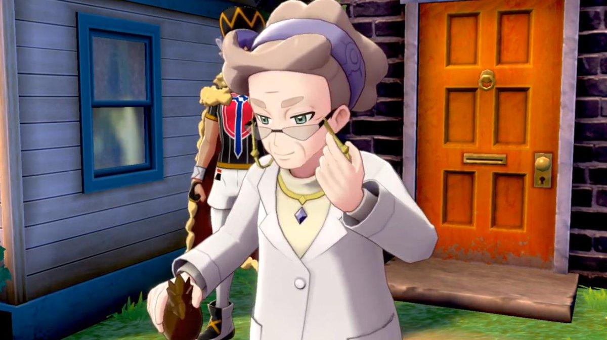 Professor Magnolia Is The New Professor Of The Galar Region In