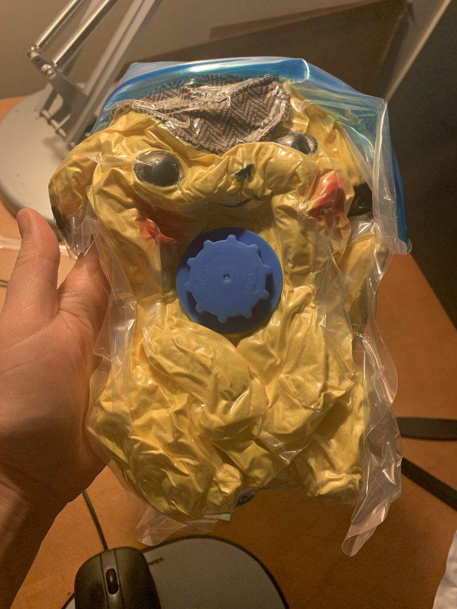 Sometimes The Detective Pikachu Plush Toy You Ordered Comes In
