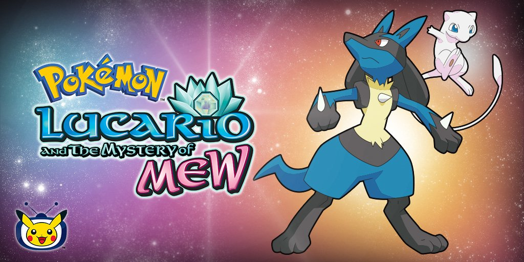 Pokemon Movie Marathon Announced With Pokemon Lucario And The