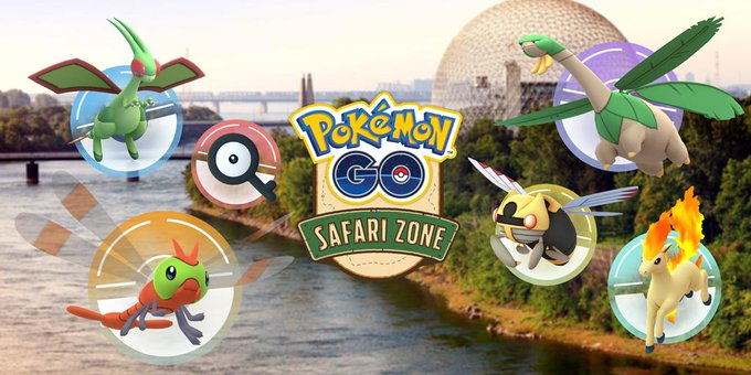 Redeem your Pokémon GO Safari Zone Montréal pass codes by