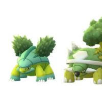 Shiny Turtwig, Shiny Grotle and Shiny Torterra now available in Pokémon GO for the first time