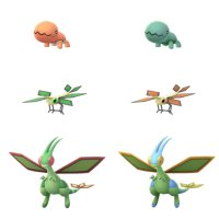 Shiny Trapinch, Shiny Vibrava and Shiny Flygon make their Pokémon GO debuts on October 12