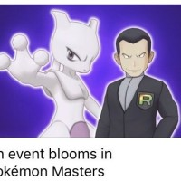 Giovanni and Mewtwo sync pair event leaked for Pokémon Masters