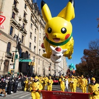 Video: Pikachu balloon and Pikachu dance performance appear at the 2020 Macy's Thanksgiving Day Parade