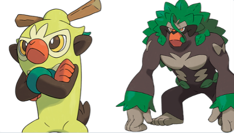 Official Artwork And Details Revealed For Thwackey And Rillaboom In Pokemon Sword And Shield Pokemon Blog Along with scorbunny and sobble, grookey is one of three starter pokémon available at the. official artwork and details revealed