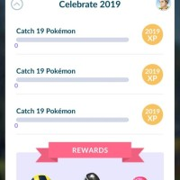 New Special Research called Celebrate 2019 now available in Pokémon GO