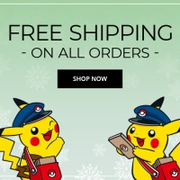 Free shipping on all orders available now at the Pokémon Center for Cyber Monday until December 1 at 11:59 p.m. PT