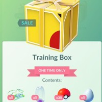 New one time only Boxes in Pokémon GO include the Training Box, Beginner Box and New Trainer Box for real currency