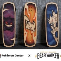 The Pokémon Company teams up with Bear Walker to create original skateboards for the Pokémon Center