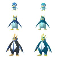 Shiny Piplup, Shiny Prinplup and Shiny Empoleon now available in Pokémon GO for the first time