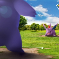 Raid Day event with party hat Gengar that know Lick and Psychic and party hat Nidorino takes place in Pokémon GO on March 1 from 2 p.m. to 5 p.m. local time
