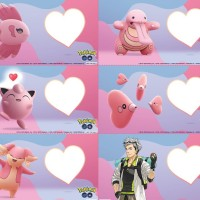 Niantic shares Pokémon GO Valentine's Day cards with Luvdisc, Audino, Alomomola, Lickitung, Jigglypuff and Professor Willow