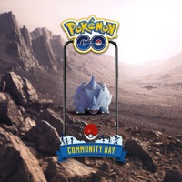 February Pokémon GO Community Day features Rhyhorn and Rhyperior that know Rock Wrecker