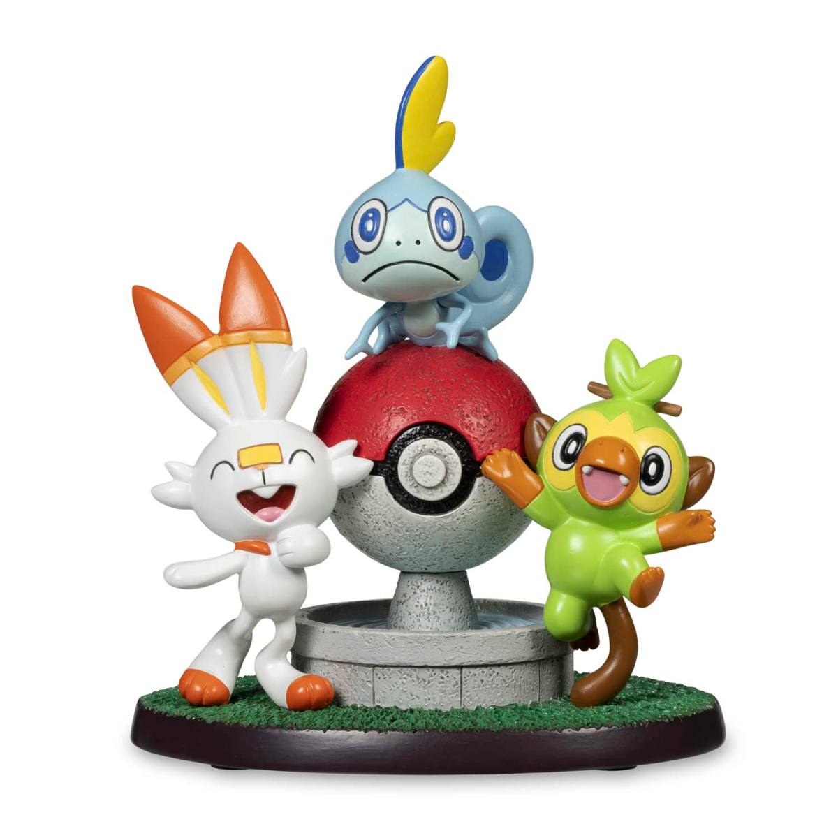 New The Galar Journey Begins Figure Available Now At The Pokemon Center Pokemon Blog Grookey (サルノリ) is a starter pokémon, and was introduced in the eighth generation of pokémon, pokémon sword and shield (ポケットモンスターソード・シールド). new the galar journey begins figure