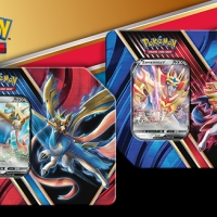 New Pokémon TCG: Legends of Galar Tins feature Zacian V and Zamazenta V