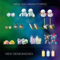 New Galar Pokémon, more Galarian Pokémon, their Shiny counterparts and new Gen 8 badges leaked for Pokémon GO
