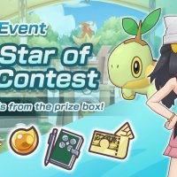 The Star of the Contest story event page updated for Pokémon Masters