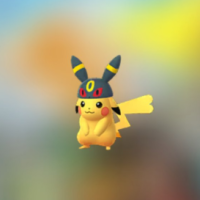Umbreon hat Pikachu and Shiny Dunsparce now available in Pokémon GO for the first time