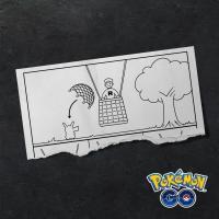 Professor Willow obtains more Team GO Rocket scraps of paper from Candela in Pokémon GO