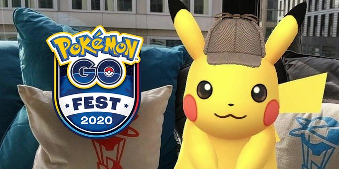 Niantic Shares Go Snapshot Photo Of Detective Hat Pikachu For Pokemon Go Fest 2020 Pokemon Blog