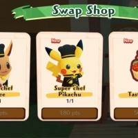 Pokémon Café Mix has now been updated with new stages, Swap Shop and special Challenge Card