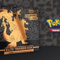 Pokémon TCG: Champion's Path Elite Trainer Box now available in the Pokémon Center and where Pokémon TCG products are sold