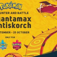 Dynamax Crystal distribution event to unlock Gigantamax Centiskorch Max Raid Battle in Pokémon Sword and Shield now available at Smyths Toys UK until October 25