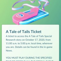 Tickets for A Tale of Tails Special Research story now available to purchase for Charmander Pokémon GO Community Day
