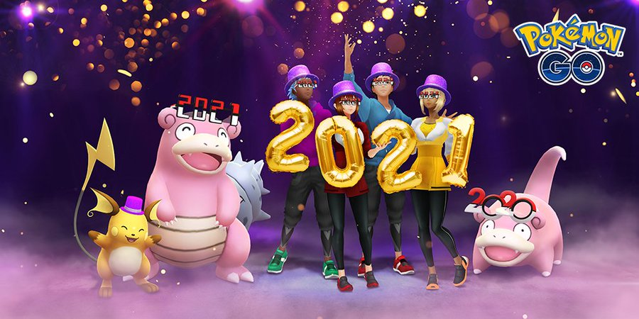 New Year 2021 event takes place in Pokémon GO from December 31 at 10 p.m. to January 4 at 10 p.m