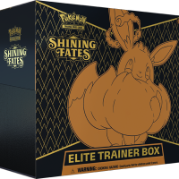 New Pokémon TCG: Shining Fates Elite Trainer Box revealed featuring Eevee VMAX