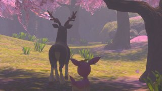 deerling_with_sawsbuck_new_pokemon_snap