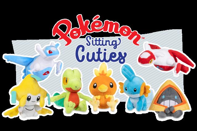 2019 New  Pokemon Center Original Pidgeot Sitting Cuties Plush 6 In.