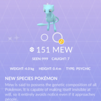 Pokémon GO Tour: Kanto Masterwork Research can be completed over a long period of time, finish All-in-One #151 to encounter and catch Shiny Mew
