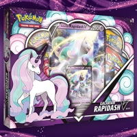 New Pokémon TCG: Galarian Rapidash V Box will be available tomorrow, May 7, in the Pokémon Center and where Pokémon TCG products are sold