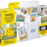 Instax mini Link Special Edition with Pikachu case from Fujifilm now available for pre-order in Australia for $199 AUD at JB Hi-Fi