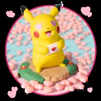 New Pokémon Celebration Parade figure and Pikachu Moods: Lovestruck Figure arrive June 22 at the Pokémon Center