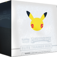 New Pokémon TCG: Celebrations Elite Trainer Box is launching on October 8 and comes with 10 Celebrations 4-card booster packs, 5 additional booster packs, a special foil card featuring Greninja ⭐ and much more