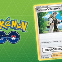 Pokémon TCG card featuring Professor Willow and a code for Special Research now come with every purchase of Pokémon GO products at the Pokémon Center in the US and Canada