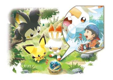 new_pokemon_snap_tiny_neo_one_exploring_gigantic_emolga_pichu_and_scorbunny