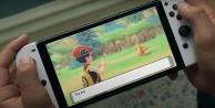 playing_pokemon_brilliant_diamond_and_shining_pearl_catching_buizel_on_nintendo_switch_oled_model