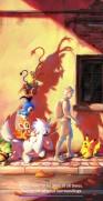 pokemon_go_loading_screen_hoopa_pikachu_chimchar_turtwig_piplup_dedenne_Furfrou_Phantump