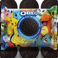 Pokémon x OREO Limited Edition Cookies available now in stores with 16 different Pokémon themed OREO cookies