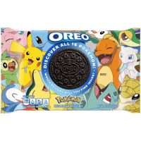 Pokemon x OREO Limited Edition Cookies revealed featuring 16 different designs with Pikachu, Mew, Sableye, Bulbasaur, Charmander, Squirtle, Dratini, Cyndaquil, Rowlet, Grookey, Lapras, Piplup, Sandshrew, Snivy, Jigglypuff and Pancham