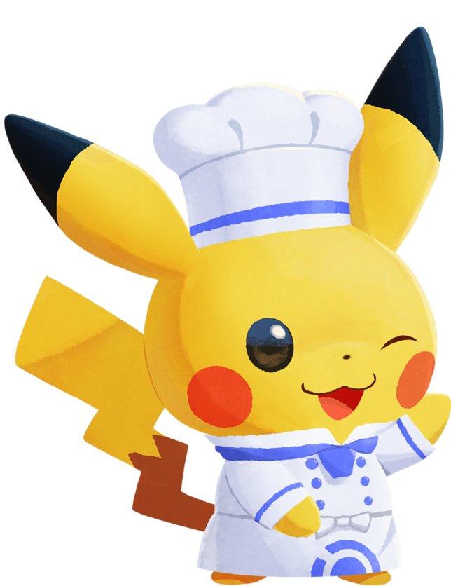 chef_pikachu_pokemon_cafe_remix
